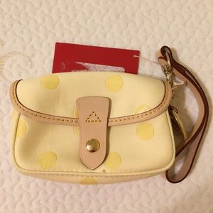 Dooney & Bourke Women's Yellow Wristlet